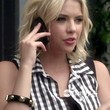 Ashley Benson Button Down Shirt