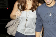 Ashley Greene Silver Chain