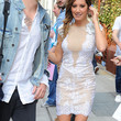 Ashley Tisdale Clothes - Cocktail Dress