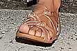 Ashley Tisdale Flat Sandals