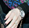 Avril Lavigne Sterling Bracelet Watch