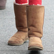 Bailee Madison Sheepskin Boots