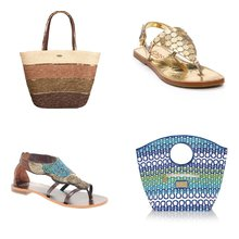 Beachy Bags and Shoes