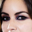 Berenice Marlohe Beauty - Smoky Eyes