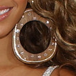 Beyonce Knowles Jewelry - Costume Hoops
