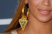 Beyonce Knowles Gold Hoops