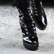 Beyonce Knowles Shoes - Lace Up Boots