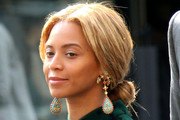 Beyonce Knowles Loose Bun