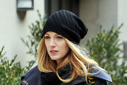 Blake Lively Fleece Beanie