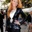 Blake Lively Sequined Jacket