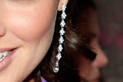 Blanca Soto Dangling Diamond Earrings