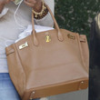 Brandy Leather Tote