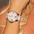 Bridget Marquardt Watches - Leather Band Quartz Watch
