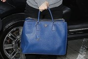 Brit Marling Leather Tote