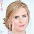 Brit Marling Loose Bun