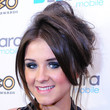 Brooke Vincent Hair - Messy Updo