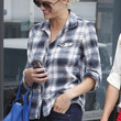 Brooklyn Decker Clothes - Button Down Shirt
