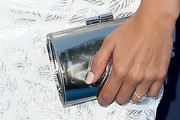 Ashley Tisdale Metallic Clutch