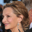 Calista Flockhart Hair - Messy Updo