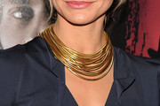 Cameron Diaz Layered Gold Necklace
