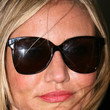 Cameron Diaz Oversized Sunglasses