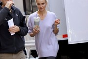 Cameron Diaz V-neck Sweater