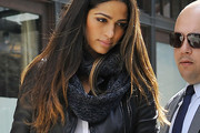 Camila Alves Wool Scarf