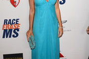 Camille Grammer Halter Dress