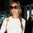 Candice Swanepoel Hair - Long Braided Hairstyle