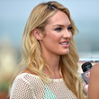 Candice Swanepoel Hair - Long Wavy Cut