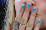 Cara Delevingne Nails
