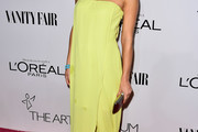 Cara Santana Strapless Dress