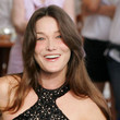 Carla Bruni-Sarkozy Hair - Long Center Part