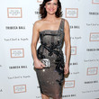 Carla Gugino Beaded Dress