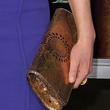 Carla Gugino Metallic Clutch