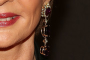 Carolina Herrera Dangling Gemstone Earrings