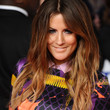 Caroline Flack Hair - Long Center Part