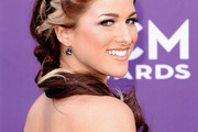 Cassadee Pope Long Braided Hairstyle
