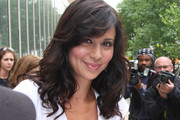Catherine Bell Long Curls with Bangs