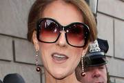 Celine Dion Oversized Sunglasses