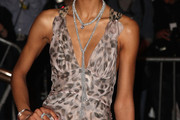 Chanel Iman Diamond Lariat Necklace
