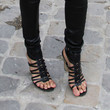 Chanel Iman Shoes - Gladiator sandals