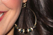 Charlene Amoia Beaded Hoops