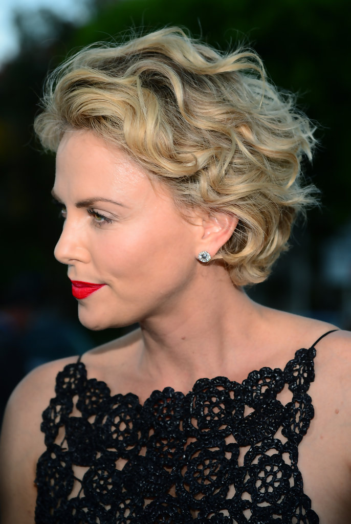 Charlize Theron Short Curls - Short Hairstyles Lookbook