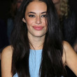 Chloe Bridges Long Straight Cut with Bangs