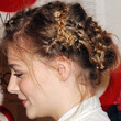 Chloe Grace Moretz Hair - Braided Updo