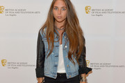 Chloe Green Denim Jacket