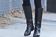 Chloe Sevigny Knee High Boots