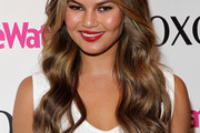 Chrissy Teigen Long Hairstyles