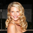 Christie Brinkley Long Side Part